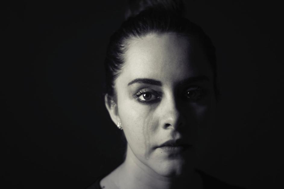 mujer triste por ansiedad