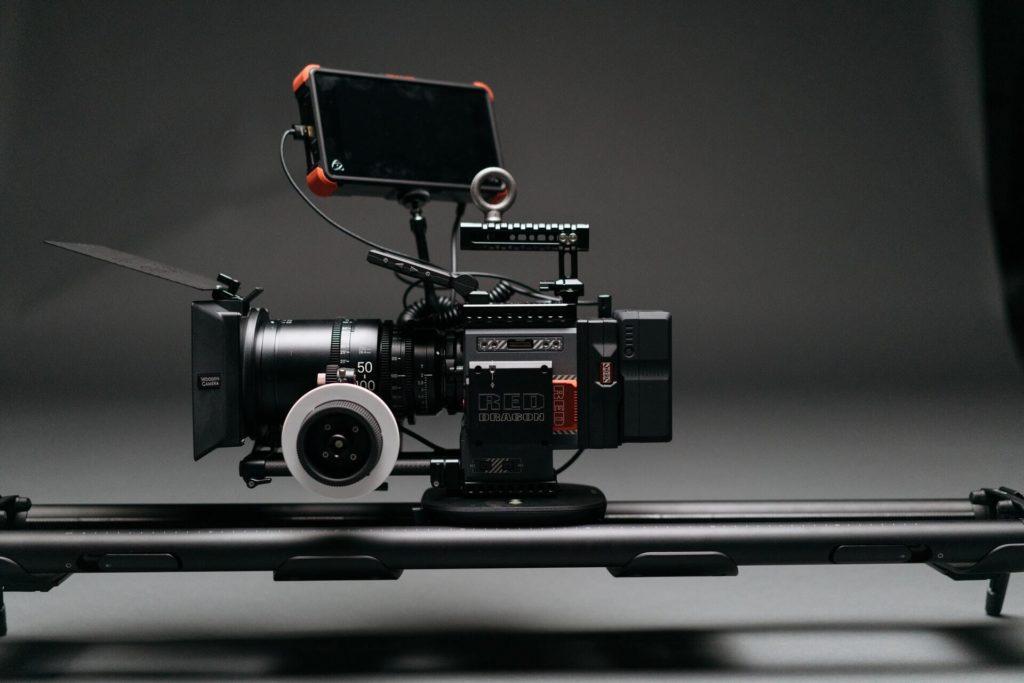 cámara profesional de cine