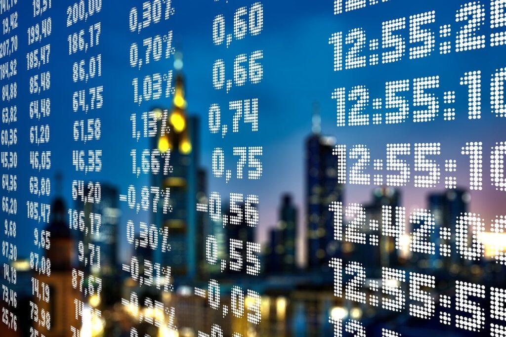 stock exchange, world economy, boom